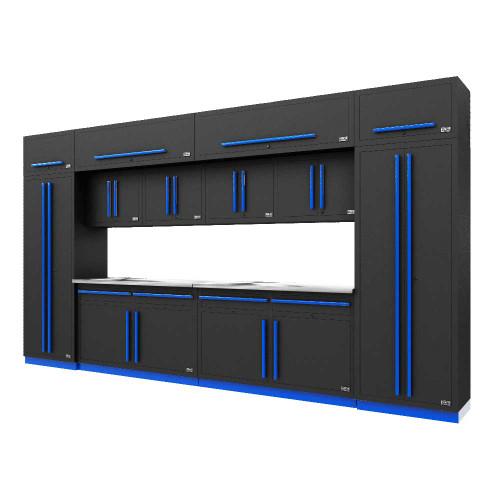 Proslat Fusion PRO 14 Piece Cabinet Set - Blue