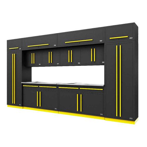 Proslat Fusion PRO 14 Piece Cabinet Set - Yellow