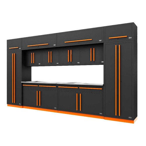 Proslat Fusion PRO 14 Piece Cabinet Set - Orange