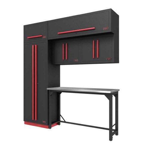 Proslat Fusion PRO 7 Piece Work Bench Set - Barrett-Jackson Red