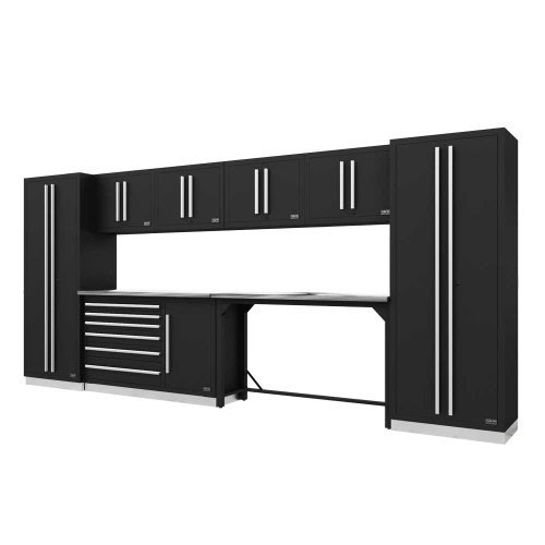 Proslat Fusion PRO 10 Piece Work Bench Set - Silver