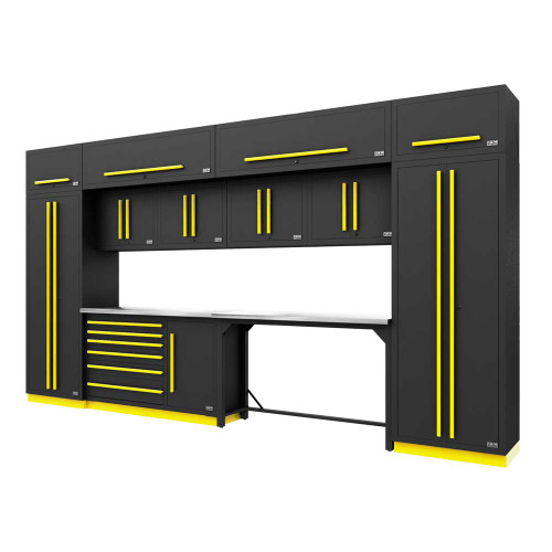 Proslat Fusion PRO 14 Piece Work Bench Set - Yellow