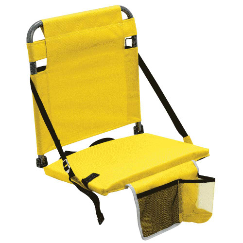 RIO Gear Bleacher Boss Companion Stadium Seat with Pouch - Yellow