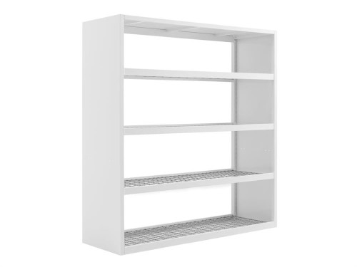 "NewAge Pro 3.0 Wall Mounted 72"" Rack - White"