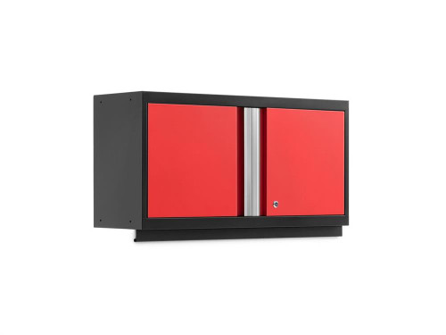 "NewAge Bold 3.0 Red 36"" Wall Cabinet"