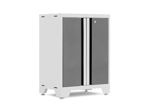 NewAge Bold 3.0 White 2-Door Base Cabinet