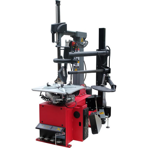 Tuxedo TC-1300 Tire Changer - Tiltback Press Arm w/ Leverless Demount Tool