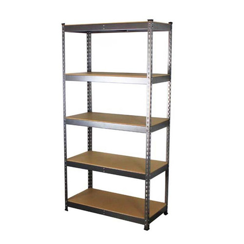 SafeRacks 18 x 36 x 72 Modular Garage Shelving Rack - Hammertone