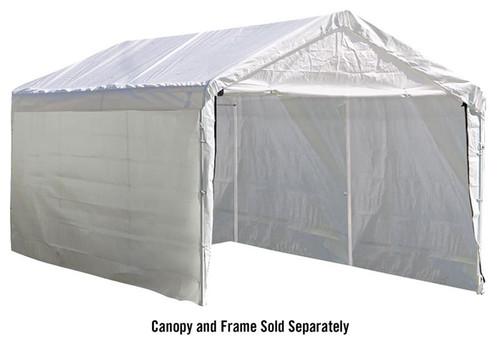 ShelterLogic Canopy Enclosure Kit for the SuperMax 10 ft. x 20 ft.