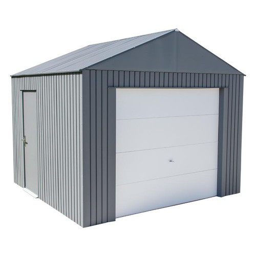 Sojag Everest Snow/Wind Rated Garage 12 x 10 ft. in Charcoal