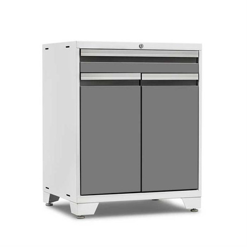 NewAge Pro Series 3.0 White w/Platinum Door Multi-Functional Cabinet