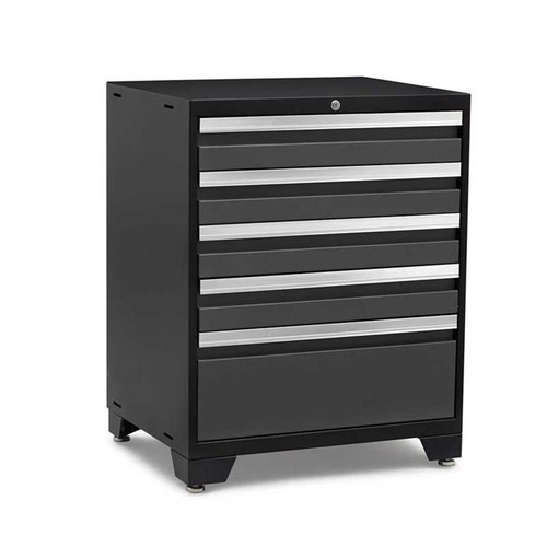 NewAge Pro Series 3.0 Grey 5-Drawer Tool Cabinet