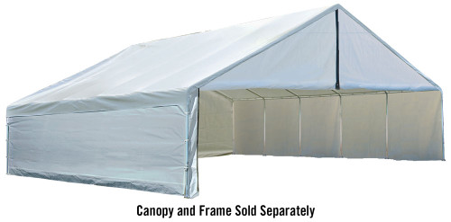 ShelterLogic Enclosure Kit for the UltraMax Canopy 30' x 30' - White