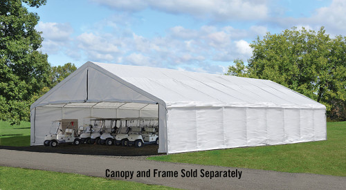 ShelterLogic Enclosure Kit for the UltraMax Canopy 30' x 50' - White (Frame and Canopy Sold Separately)