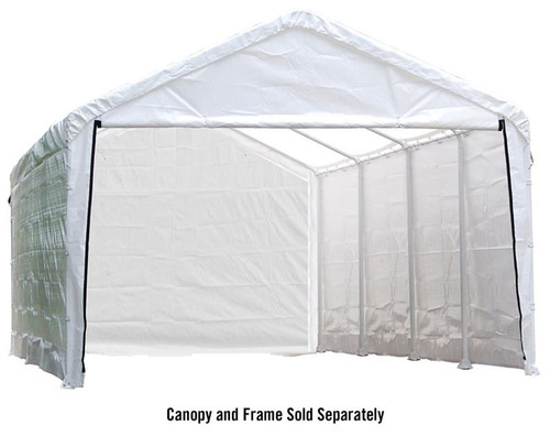 ShelterLogic Canopy Enclosure Kit for the SuperMax 12 ft. x 30 ft.