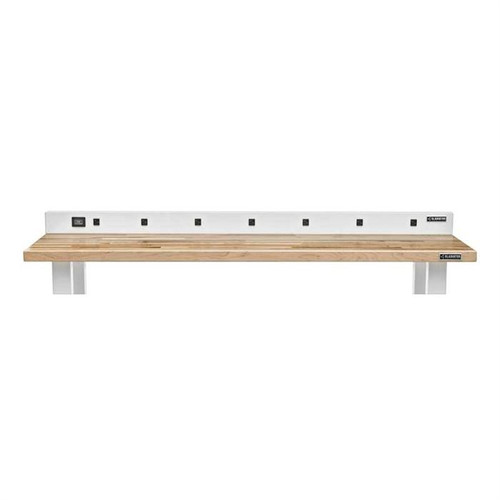 Gladiator Premier White Workbench Powerstrip