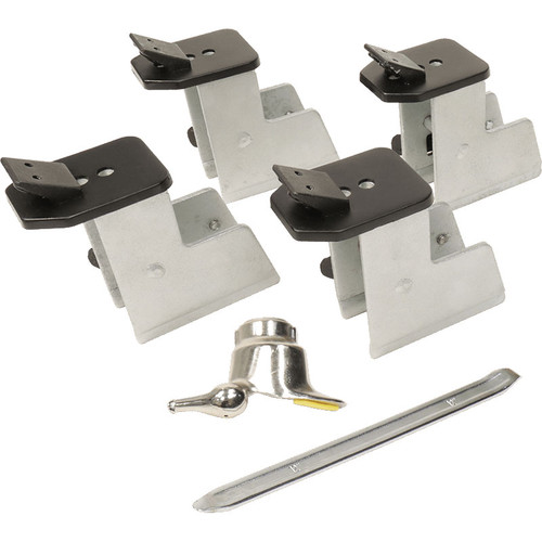 Ranger Elevated ATV Clamps Kit / Set of 4 / Fits Adjustable Clamps / Includes ATV Mounting Head