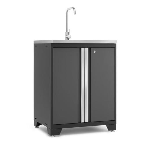 NewAge Pro Series 3.0 Grey Garage Sink Cabinet
