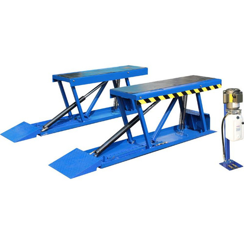 Tuxedo PL6K 6,600 lb Low-Rise Pit Lift - Includes Power Unit and Stand