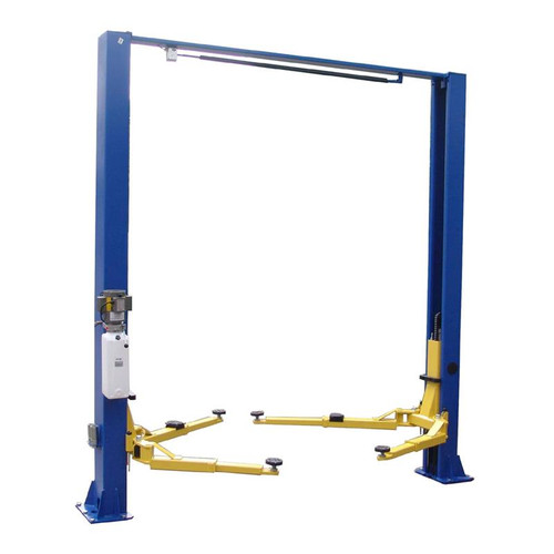 Tuxedo TP9KSCX 9,000 lb 2 Post Symmetric Clear Floor Car Lift