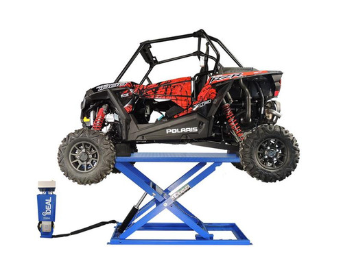 iDEAL UF-2200EH-X Pro-Series Elec-Hydra UTV Lift w/Integrated Motor & Retractable Ramp