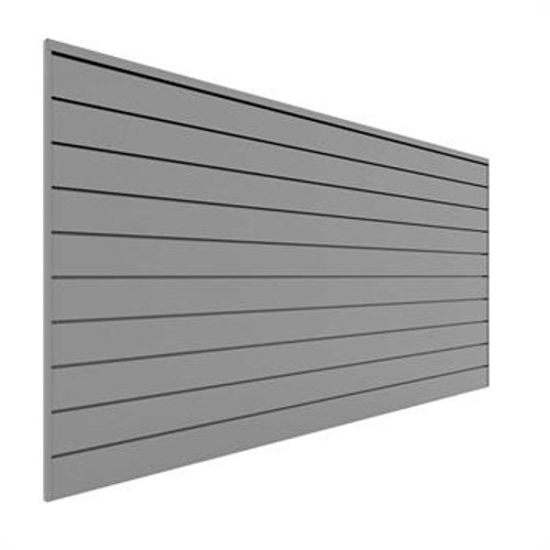 Proslat 8' x 4' PVC Wall Panels & Trims – Gray