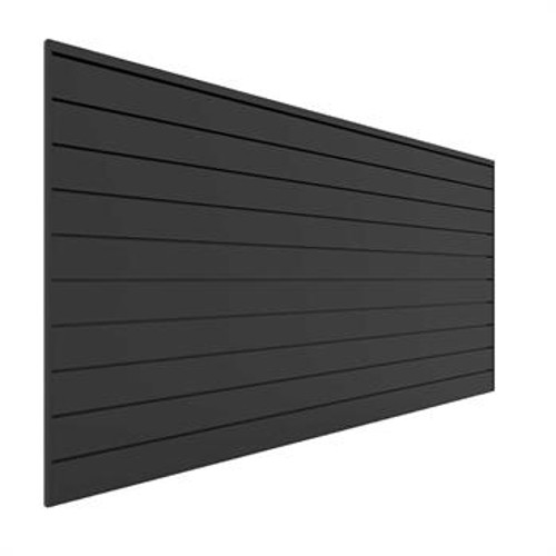 Proslat 8' x 4' PVC Wall Panels & Trims – Charcoal