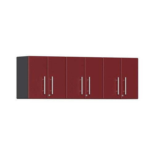 Ulti-MATE Garage 2.0 Series Red Metallic 3-Piece Wall Cabinet Kit