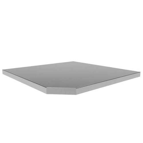 "NewAge Bold 3.0 21"" Stainless Steel Corner Worktop"