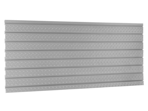 "NewAge Pro 3.0 56"" Diamond Plate Slatwall Backsplash"