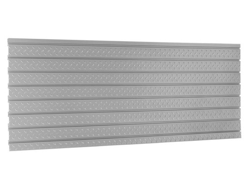 "NewAge Pro 3.0 84"" Diamond Plate Slatwall Backsplash"