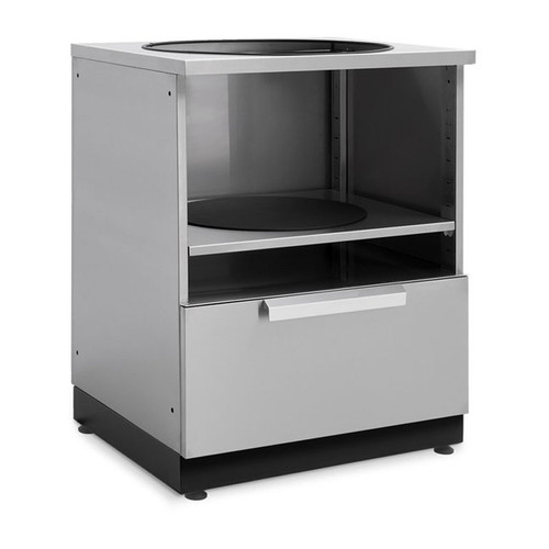 """NewAge Stainless Steel 28""""W x 24""""D Kamado Cabinet"""