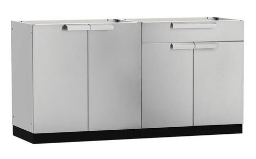 "NewAge Stainless Steel 64""W x 24""D Outdoor Kitchen Set"