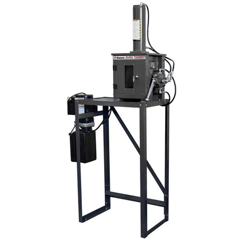 Ranger RP-30FCH Electro/Hydraulic Oil-Filter Crusher With Stand / 15-Ton Capacity / 208-240V, 1-Phase, 50/60hz