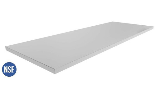 "NewAge Stainless Steel 56"" NSF Certified Countertop"