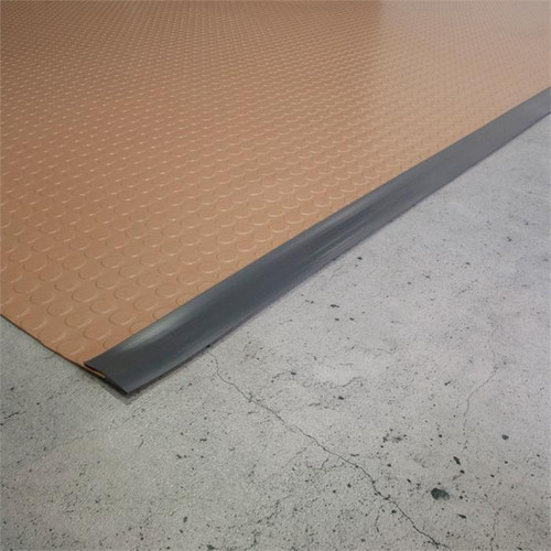 G-Floor Mat Edge Trim 25' - Slate Grey
