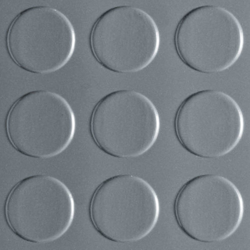 Coin Pattern G-Floor 75 mil - 8.5' W x 24' L