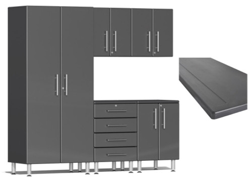 Ulti-MATE Garage 2.0 Series Grey Metallic 6-Piece Set