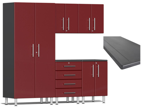 Ulti-MATE Garage 2.0 Series Red Metallic 6-Piece Set