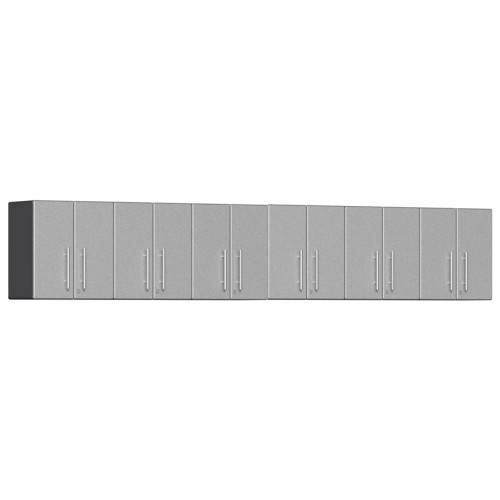 Ulti-MATE Garage 2.0 Series Silver Metallic 6-Piece Wall Cabinet Set