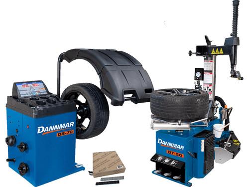 Dannmar DT-50 + DB-70 + Weights Bundle