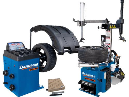 Dannmar DT-50A + DB-70 + Weights Bundle