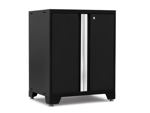 NewAge Pro Series 3.0 Black 2-Door Base Cabinet