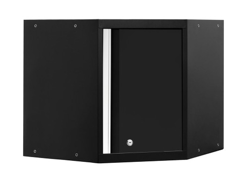 NewAge Pro Series 3.0 Black Corner Wall Cabinet