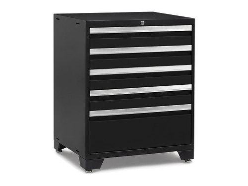 NewAge Pro Series 3.0 Black 5-Drawer Tool Cabinet