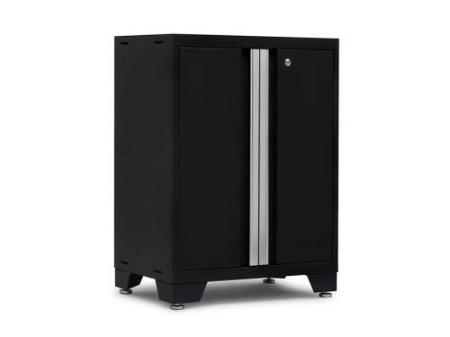 NewAge Bold 3.0 Black 2-Door Base Cabinet