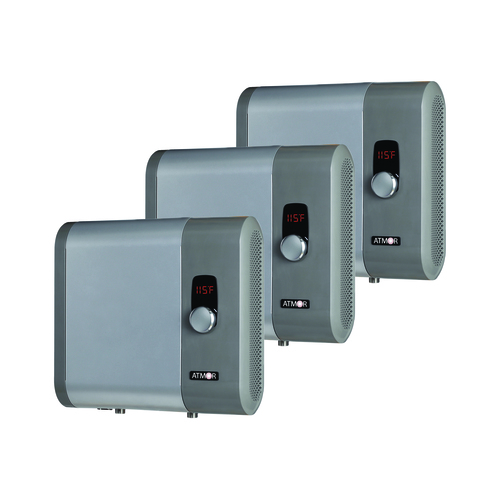 Atmor 18kW 3.73 GPM Electric Tankless Water Heater (3-Pack)