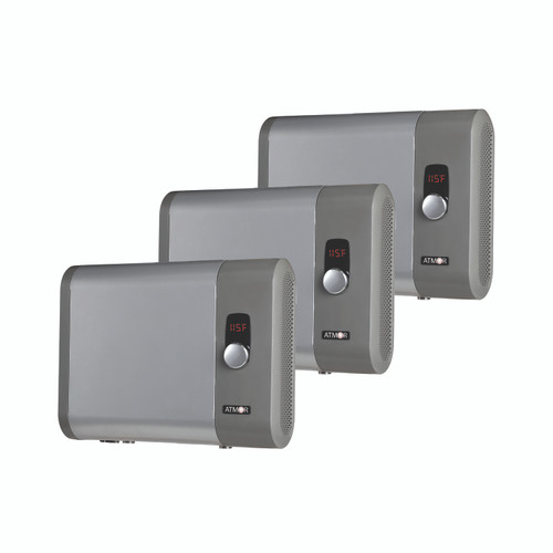 Atmor 24kW 4.65 GPM Electric Tankless Water Heater (3-Pack)