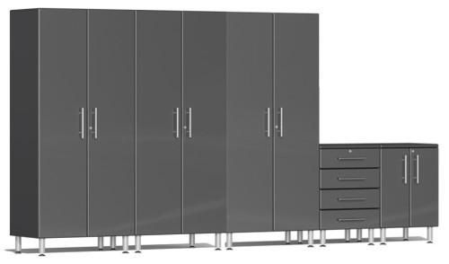 Ulti-MATE Garage 2.0 Series Grey Metallic 5-Piece Set