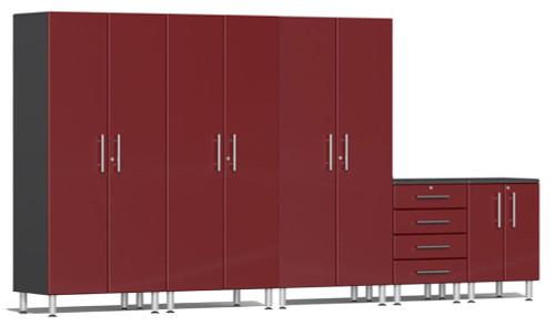 Ulti-MATE Garage 2.0 Series Red Metallic 5-Piece Set